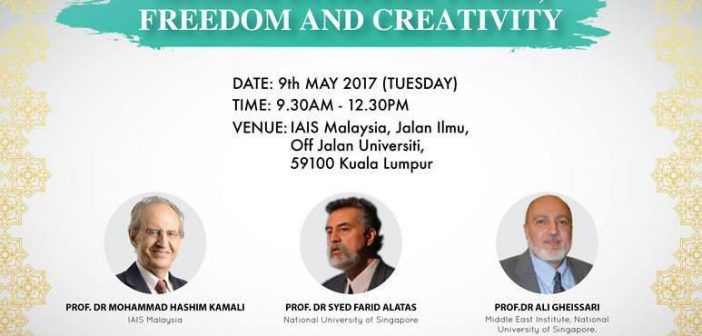 Seminar on Muslim Intellectuals, Freedom and Creativity